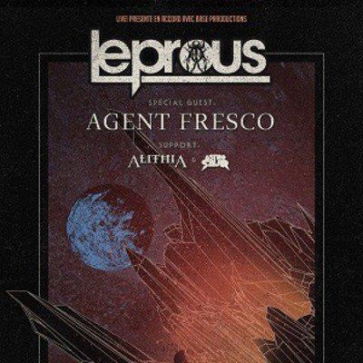 LEPROUS + AGENT FRESCO + ALITHIA + ASTROSAUR