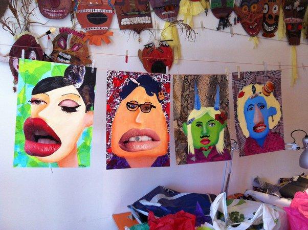 Stages t dessin peinture arts plastiques enfants for Art plastique peinture