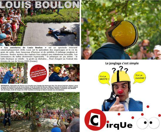 LOUIS BOULON - Clown