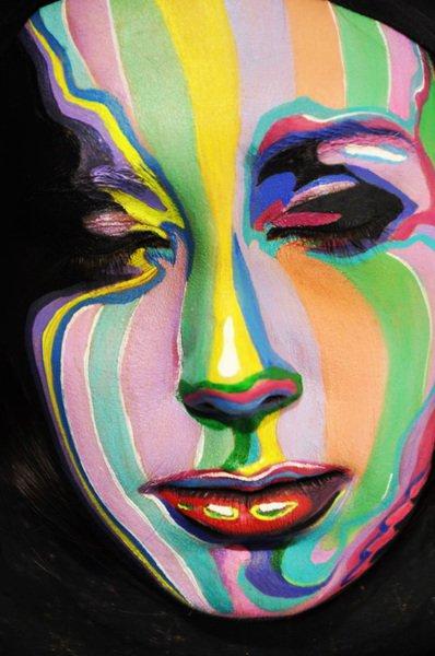 MALORY ART DESIGN - Maquillages et coiffures excentriques