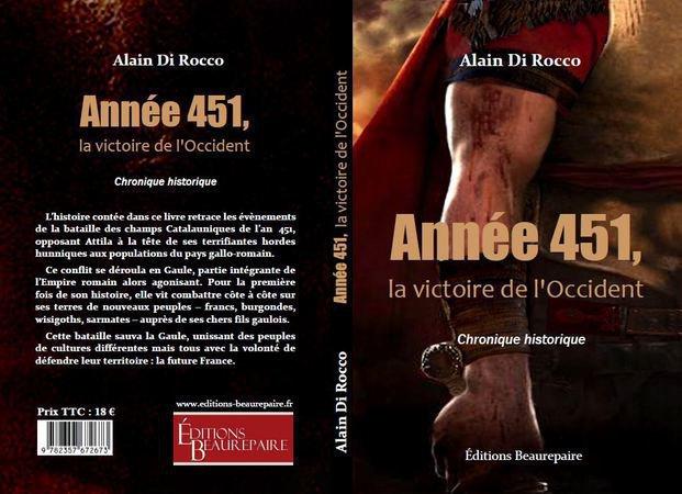 LIVRE      ANNÉE 451, LA VICTOIRE DE L'OCCIDENT