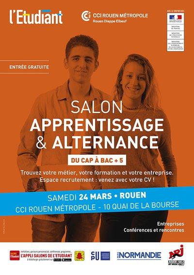 Salon de l 39 apprentissage et de l 39 alternance de rouen - Salon de l apprentissage et de l alternance bordeaux ...