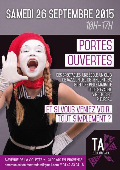 journée portes ouvertes le Théâtre d'Aix