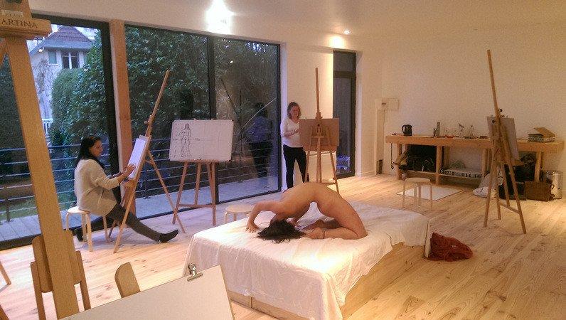 L'atelier des Colettes - Cours de dessin avec modèle vivant - Bougival - (78380)