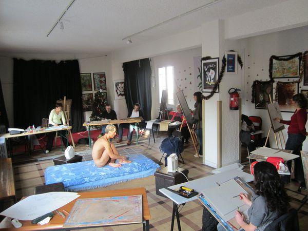 Dessin d'aprés modèle vivant à Nice avec professeur diplômé - Nice - (06000) - samedi 26 mai ...