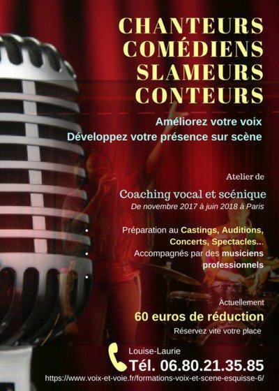 Esquisse 6 - COACHING VOCAL ET SCENIQUE