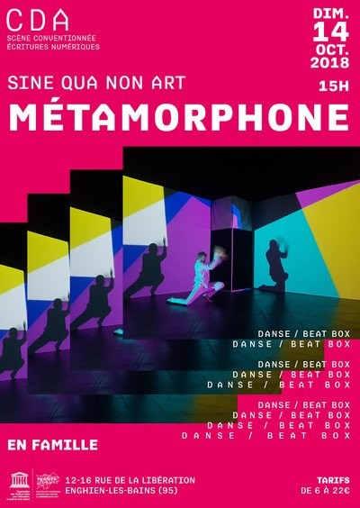 Métamorphone - Danse électro et beat box