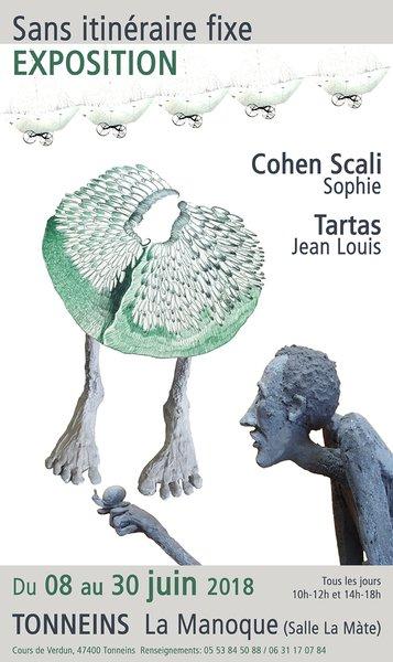 Sans itinéraire fixe - Exposition JL.Tartas et S.C.SCali