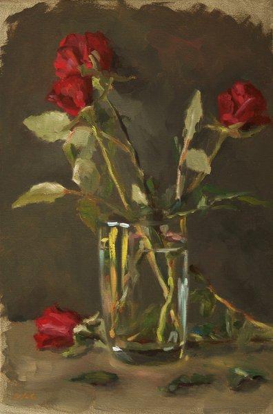 Peinture A L Huile Rose Prix Bas Et Assurance Qualite