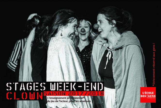 Stage Weekend Clown Adultes
