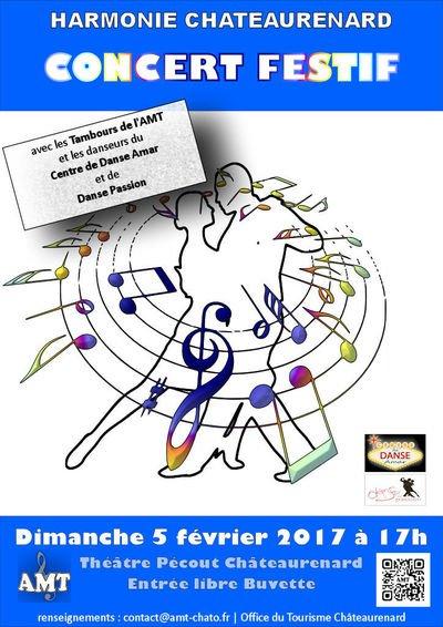 Concert festif et danseurs ch teaurenard 13160 dimanche 05 f vrier 2017 17h - Office du tourisme chateaurenard ...