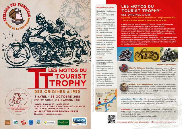 """""""Les motos du Tourist Trophy, des origines à 1950"""""""