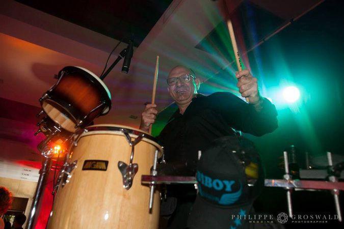 Ritchi percussionniste