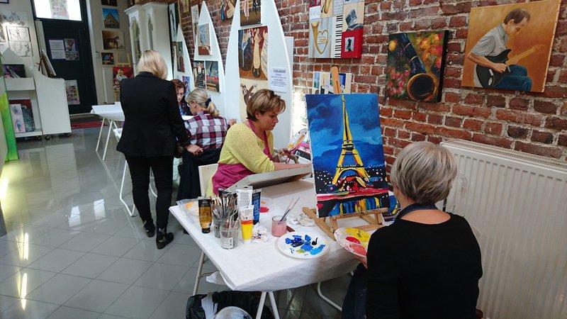 Stage Dessin/Peinture vacances ETE