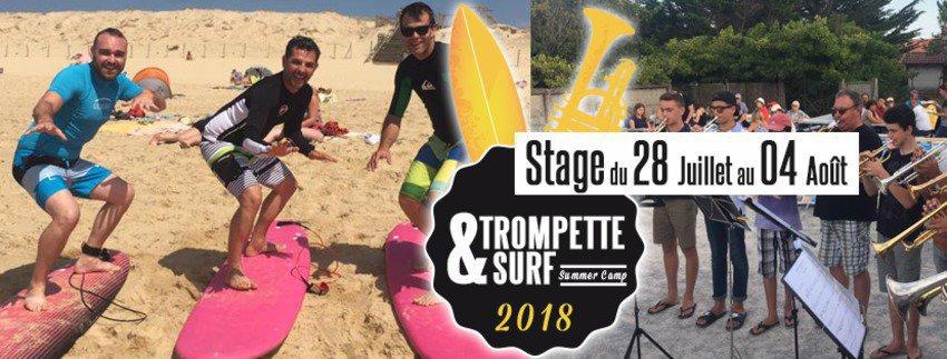 Trompette & Surf Summer Camp
