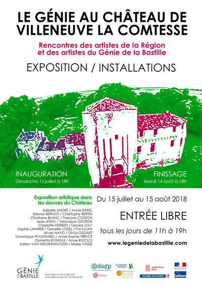 """Résultat de recherche d'images pour """"expo 2018 chateau villeneuve la comtesse"""""""