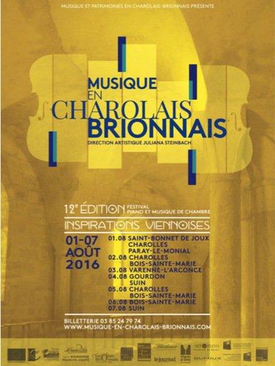 Gala d'ouverture du festival Musique en Charolais et Brionnais