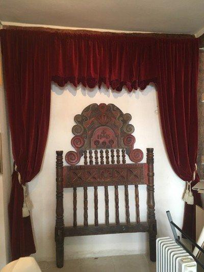 rideau de théâtre velours rouge