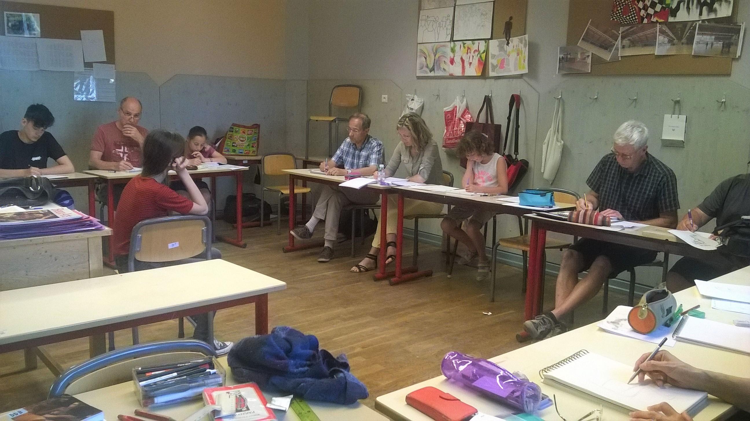 Florence adam cours de dessin colmar 68000 for Ecole de dessin bayonne