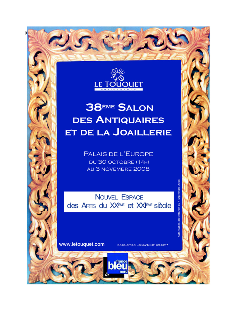 Derri re la dune au 38e salon des antiquaires du touquet for Salon des antiquaires paris
