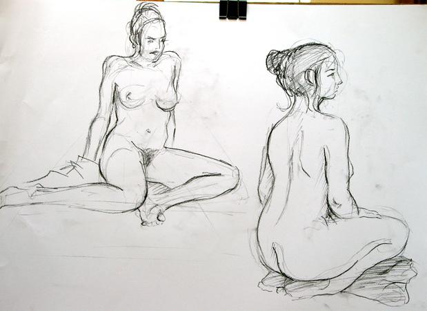 dessin animé nue annone