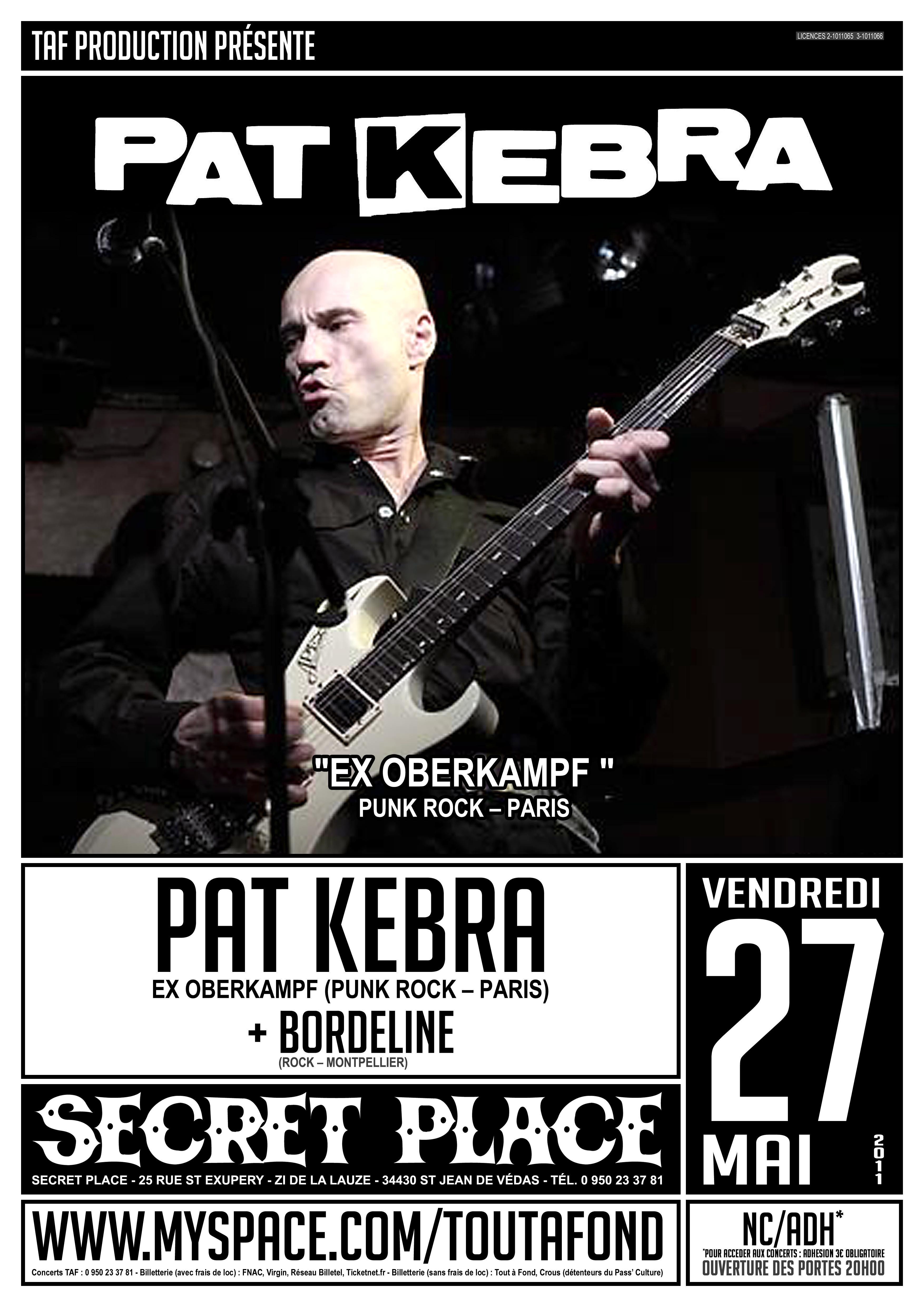Pat kebra ex oberkampf borderline the ascendants secret place 34 saint jean de v das - Electro depot st jean de vedas ...