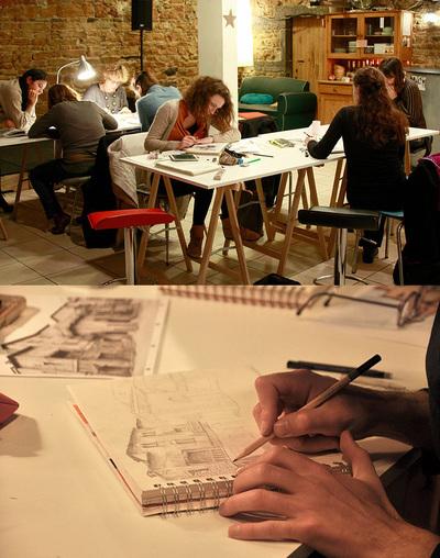 les cours et les ateliers lyon 01 69001. Black Bedroom Furniture Sets. Home Design Ideas