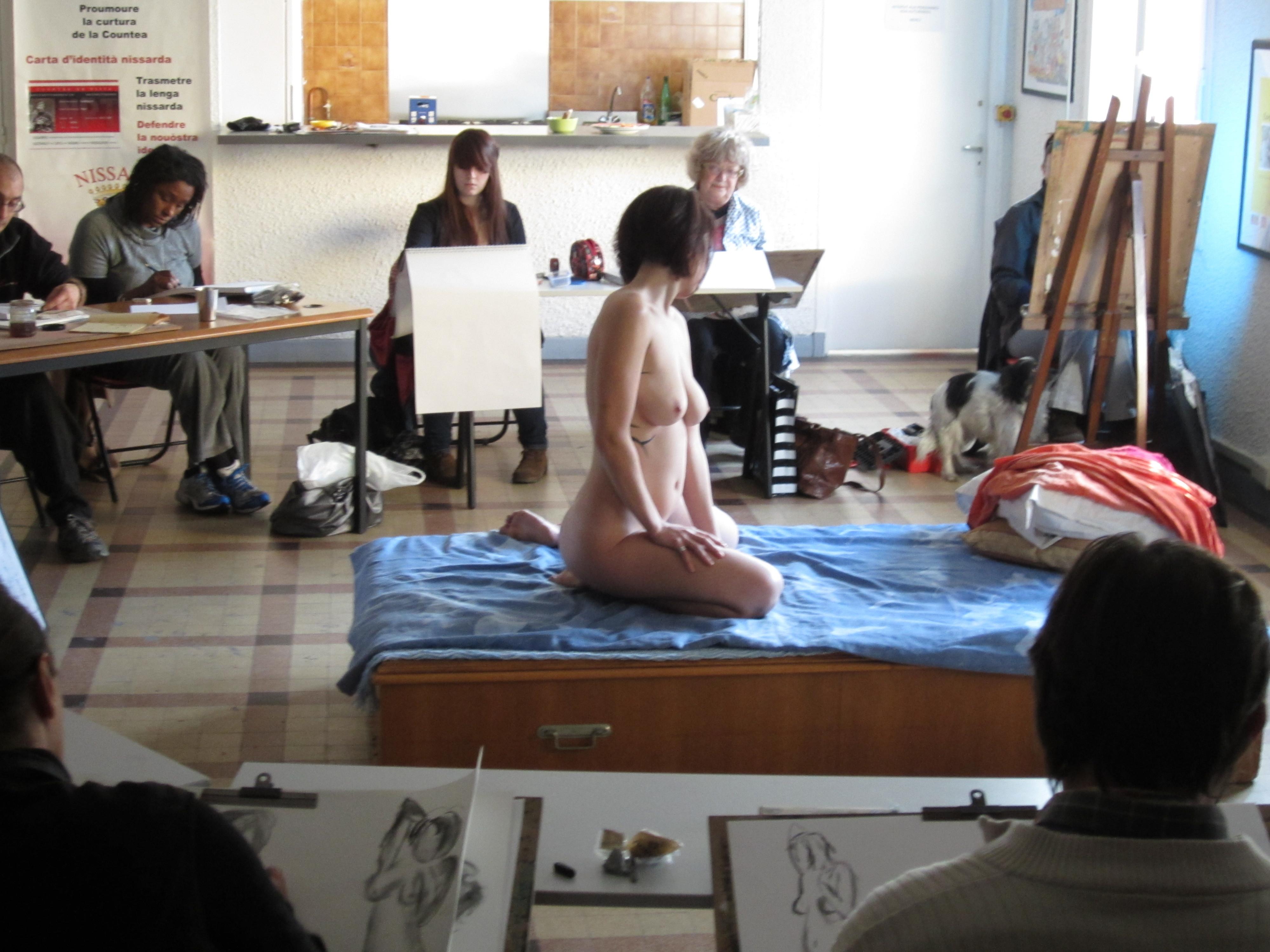 photo de modèles nus