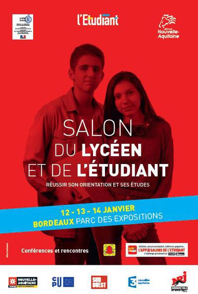 Salon du lyceen et de l etudiant de bordeaux bordeaux for Salon de l etudiant bordeaux