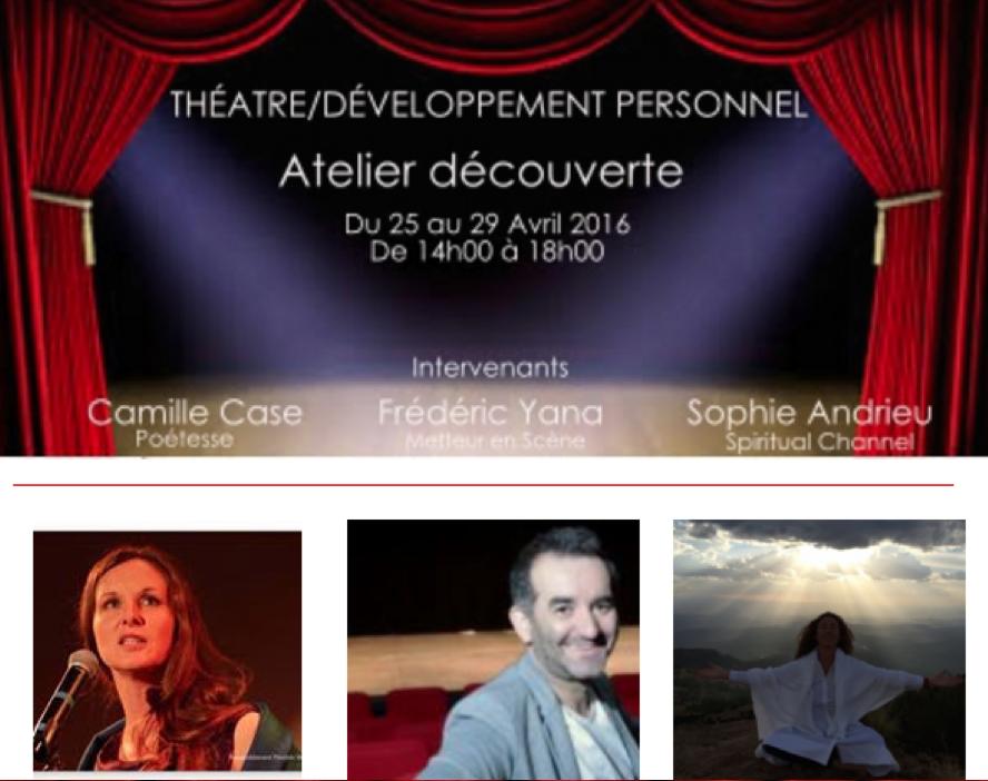 Stage in dit th tre et d veloppement personnel paris - Academie du developpement personnel ...