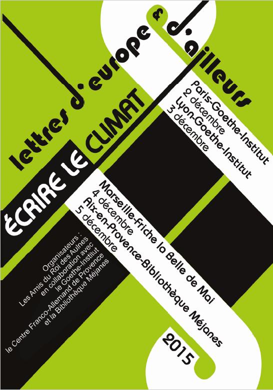 Rencontres litteraires internationales d'aix en provence