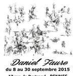 D. Faure invité d'honneur de la Galerie Laute à Rennes