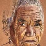 La vieillesse par Erdna Andre