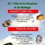fête de la fenaison et du battage 2013, 15ème édition
