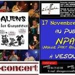 Aliens et les garçonnes, Rock Celtique, NPA VESOUL