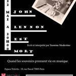 Et John Lennon est mort