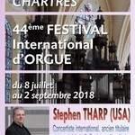 44ème Festival international d'orgue - Stephen THARP (USA)