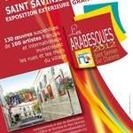 Les arabesques - Exposition extérieure d'oeuvres de peintres professionnels dont Eliora Bousquet