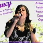 Nancy, chanteuse variétés françaises et internaionales