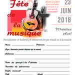 Appel aux musiciens - Fête de la musique à Fléville le 23/06