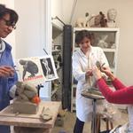 Isabelle Quint Atelier - Cours de sculpture terre