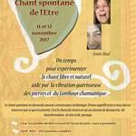 Stage: Chant spontané et mouvement de l'être