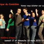 Stage théâtre week-end d'impro Paris - Mars 2018