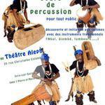 AKIBA - Ateliers et initiation aux rythmes par des instruments de percussions.