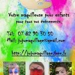 JuJu Maquillage, votre maquilleuse pour enfants en Auvergne
