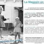 Le Magasin - Le Magasin en Herbe - laboratoires mensuels pour les enfants