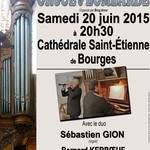 Concert orgue et bombarde en la cathédrale Saint-Étienne de Bourges