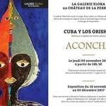 Exposition Cuba y los Orishas de l'artiste cubaine Aconcha