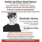 École de Danse Contretemps - Atelier Floor Work Dance