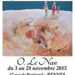 O.Le Nan, invité d'honneur de la Galerie Laute